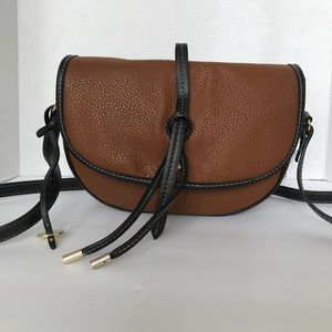 London fog cross body purse